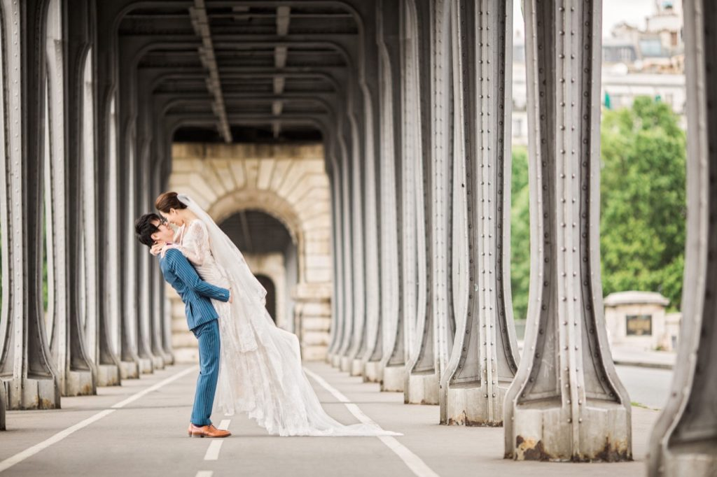 比爾阿克姆橋婚紗