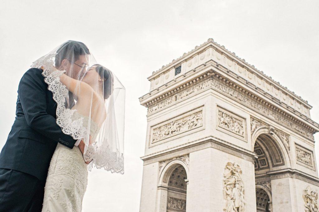 凱旋門婚紗