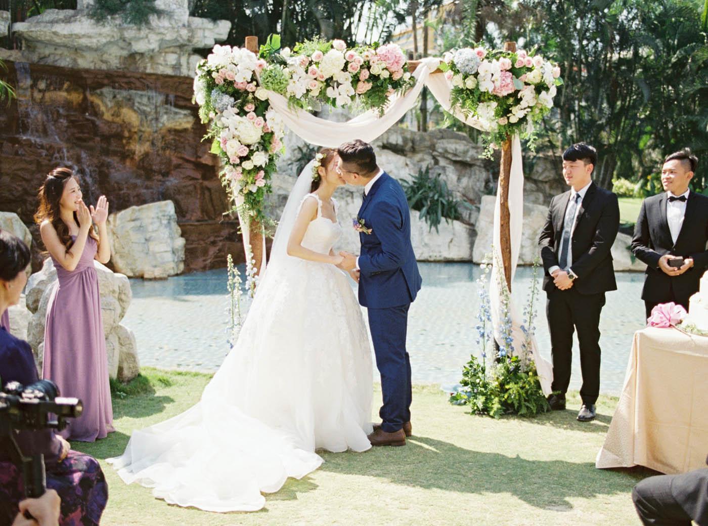 桂田酒店戶外婚禮