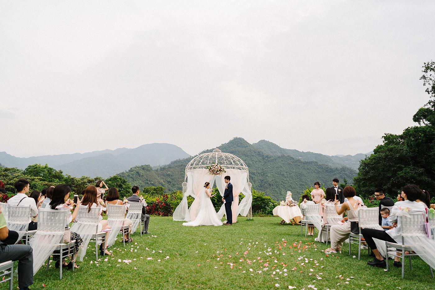 優聖美地鄉村渡假別墅婚禮作品