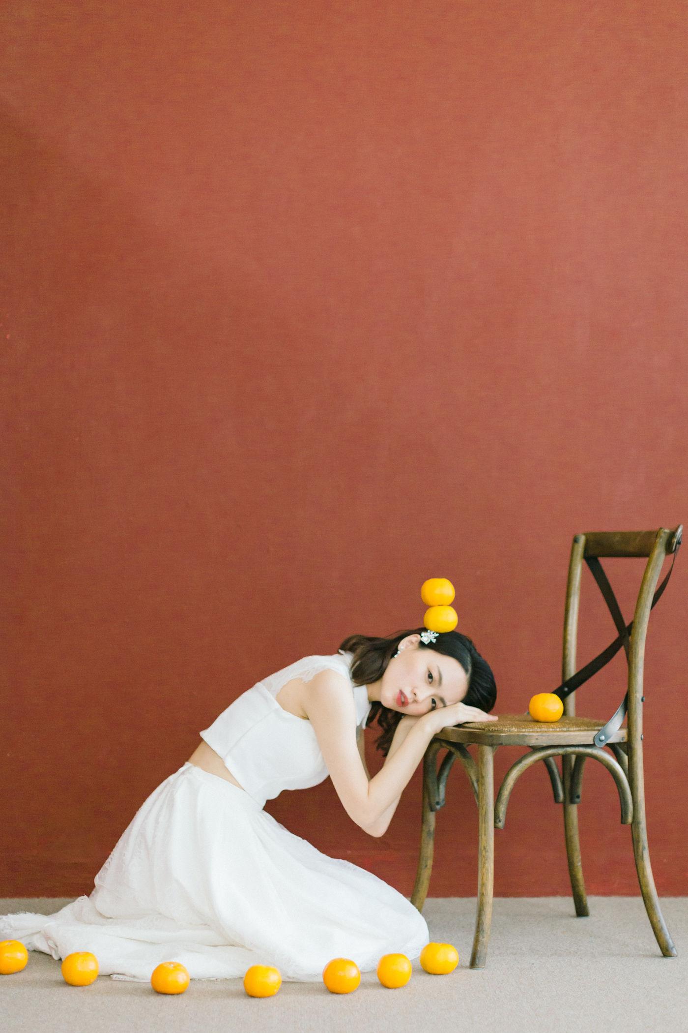 婚紗創作-橘