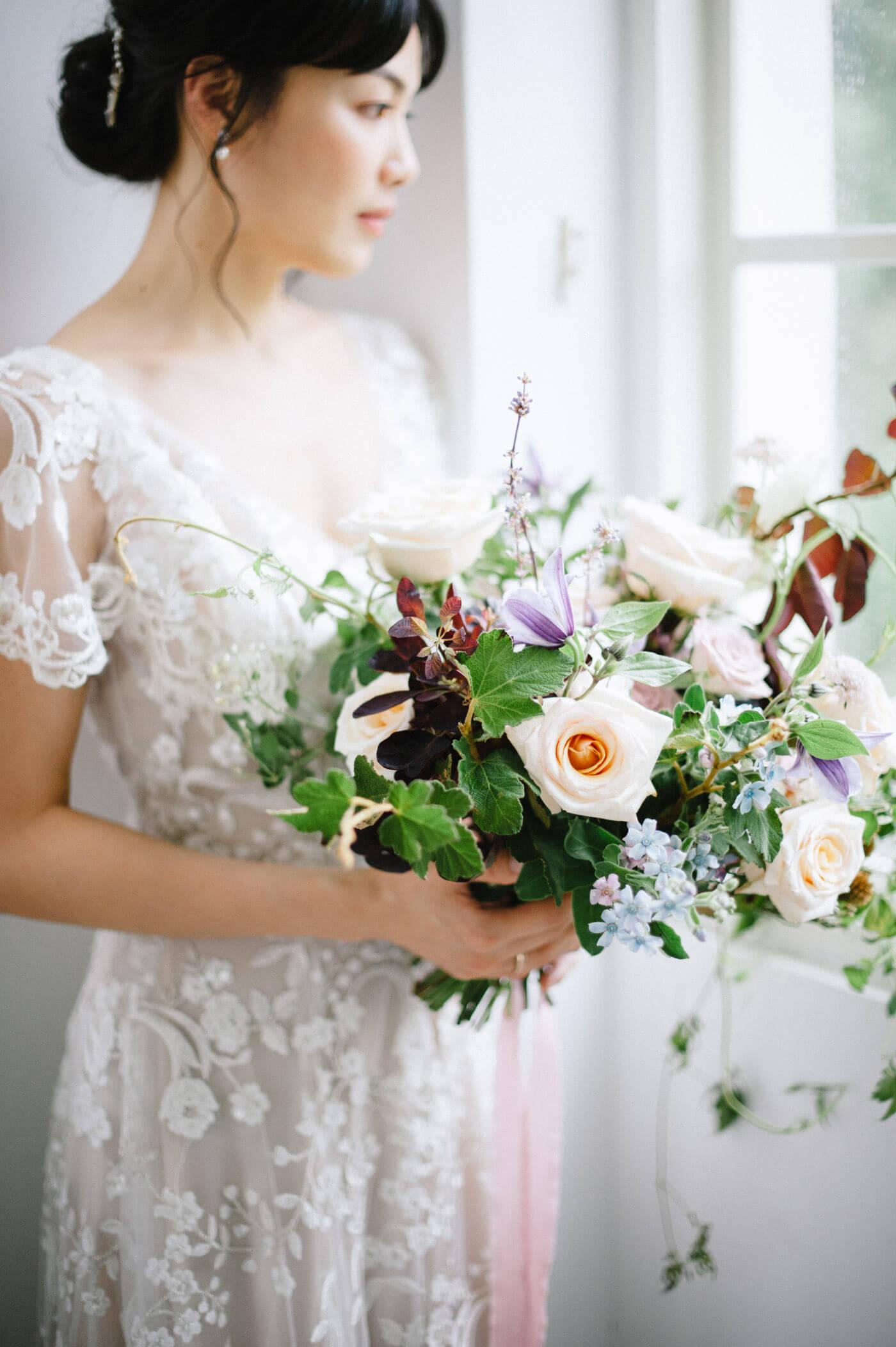 十週年婚紗 婚紗 捧花