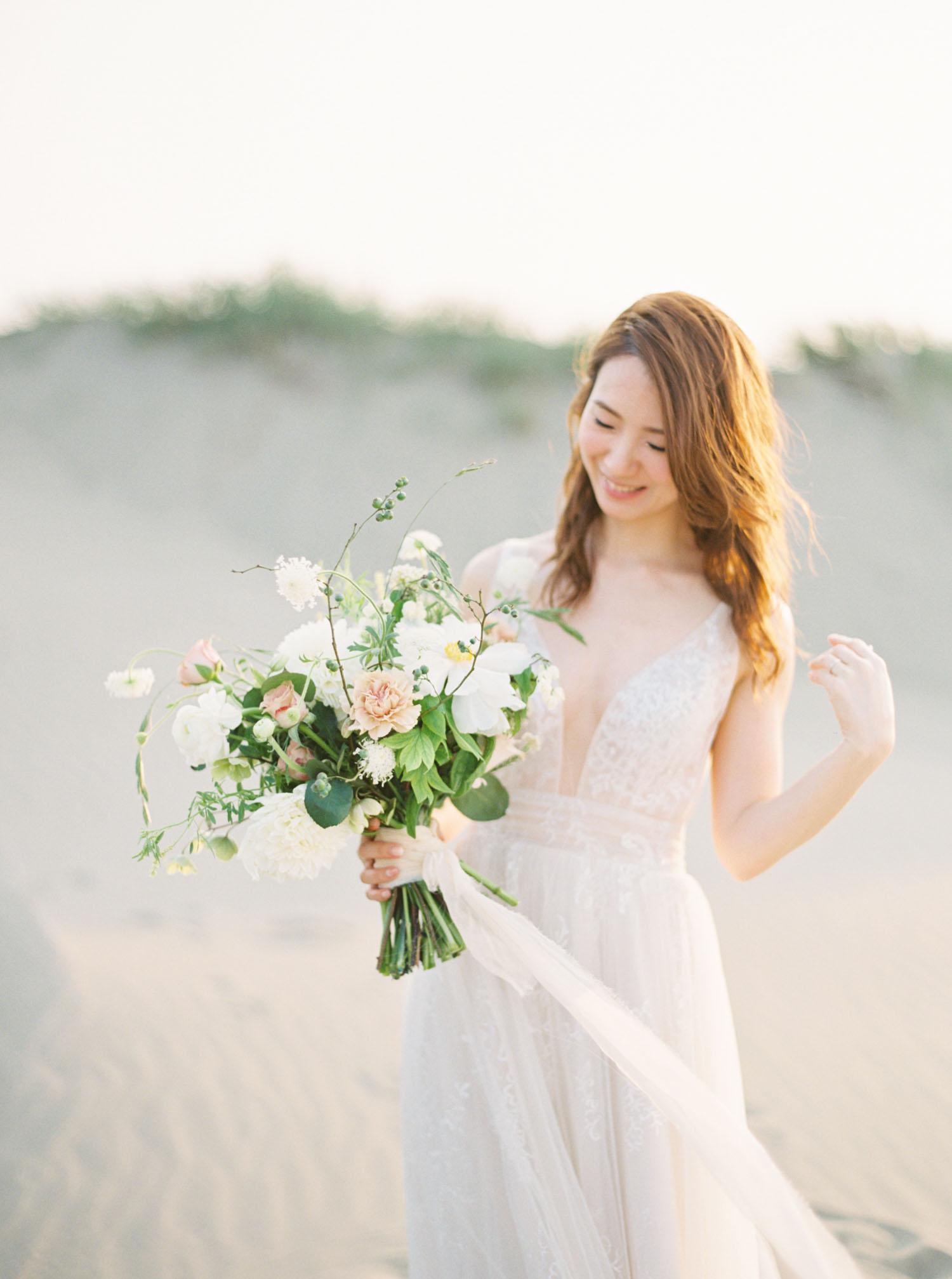 香山沙漠婚紗-沙漠婚紗-海灘-逆光-底片-Fine Art
